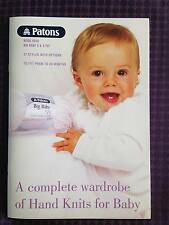 Patons Baby Book 5000 Complete Hand Knits Wardrobe Prem - 24 Months 3 & 4 Ply