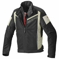 Spidi Breezy Net H2Out CE Motorcycle Motorbike Textile Jacket Black / Grey