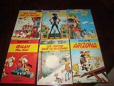 original Lucky Luke comics SC and 1 HC 18 ea total lot in French