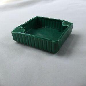 California Ware Green Ash Tray 1950's-1960's