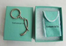 Sterling Alphabet letter L Keychain w/Box Vintage Tiffany & Co Elsa Peretti