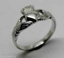 GENUINE STERLING SILVER 925 IRISH CLADDAGH RING *FREE EXPRESS POST IN OZ