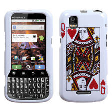 For Sprint Motorola XPRT MB612 HARD Protector Case Phone Cover Queen Of Hearts