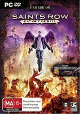 Saints Row Gat Out Of Hell PC 100% Brand New