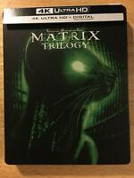 MATRIX TRILOGY Steelbook (4K UHD + Bluray) No digital