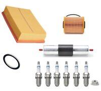 Service Kit Fits BMW E36 320i 325i 328i Bosch Air Oil Fuel Filter 6 Spark Plugs