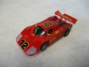 Tyco Porsche #12 HO Scale Slot Car