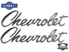 "67 Camaro "" Chevrolet "" Trunk Lid & Header Panel Emblem"