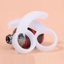 2Pairs Replacement Silicone Earphone Ear Hooks Plugs Tips Earhook Earplug