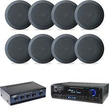 """Digital Bluetooth USB Home Receiver,Black 5.25"""" 150W Speakers & Speaker Selector"""