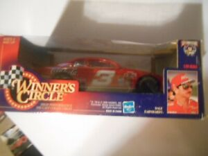1998 50th Anniversary DALE EARNHARDT COCA-COLA Winners Circle RED CAR 1/24
