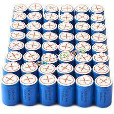 48x Ni-Mh 4/5 SubC Sub C 1.2V 2800mAh Batería recargable con Tab Azul
