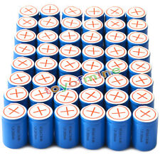 48x Ni-Mh 4/5 SubC Sub C 1.2V 2800mAh Batteria ricaricabile con Tab Blu