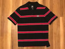 Ecko Unltd. Red White & Black Striped Short-Sleeve Polo Men's Size Medium