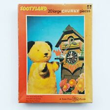 Tower Press Sootyland Vintage Jigsaw Puzzle - 20 Piece - Chunky Piece Puzzle.