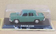 "DIE CAST "" DACIA 1100 "" LEGENDARY CARS SCALA 1/43"
