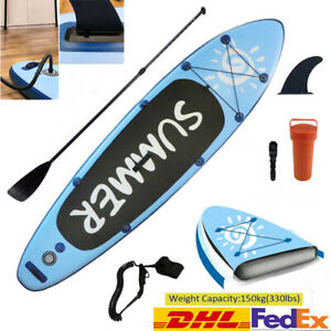 Inflatable Surf Board SUP Stand Up Paddleboard & Accessories Aqua Spirit 10ft