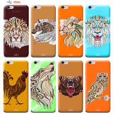 Étui Housse Design Ethnique pour Apple Iphone 4 4s 5 5 S 5c 6 6s 7 Plus Se