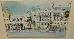 """ED EMERSON """"ON SOUTH BATTERY"""" HAND SIGNED IN PENCIL LITHOGRAPH"""