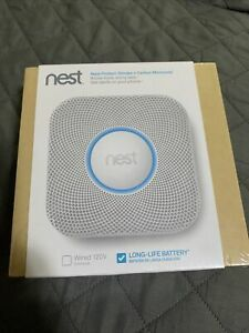 Nest S2001BW Protect Smoke and Carbon Monoxide Alarm - White