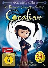 Coraline (3D-Version, Collector's Edition, 2 DVDs) von He... | DVD | Zustand gut