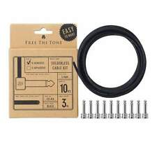 NEW! Free The Tone Solderless Cable Kit - Nickel (SLK-L-10)