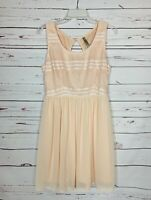 Entro Boutique Women's Size L Large Sleeveless Cute Spring Summer Party Dress