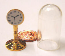 1:12 Scale Non Working Dome Clock Dolls House Miniature Living Room Accessory