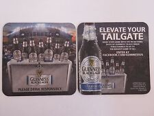 Beer Coaster >< Guinness Brewery Black Lager - Elevate Your Tailgate ~*~ IRELAND