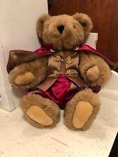 "Vermont Teddy Bear Co Royal Prince Medieval Fair Cap Outfit 15"""