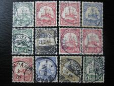 EAST AFRICA GERMAN COLONY valuable stamp collection w/ Kaiser Yacht (cancels!)