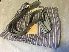 NWT Coach Legacy Leather Duffle Strap Kit F21848 Silver Warm Grey Gray