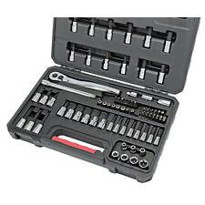Craftsman 82 Piece Bit Socket and Bit Set w/ 75 Tooth Ratchet and Case