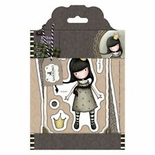 MY OWN UNIVERSE-Docrafts Santoro Gorjuss Rubber Stamp-Stamping Craft-Tweed Girls