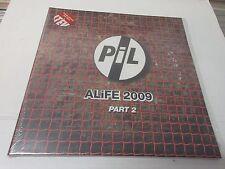 Public Image Limited - Alife 2009 Part 1 2LP Ltd.Edt. Red Vinyl NEU OVP