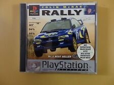 COLIN MCRAE RALLY PLATINUM RANGE PS1 Sony Playstation 1 Complete
