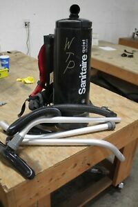 Sanitaire Commercial Backpack Vacuum W/ATTACHMENTS & HOSE