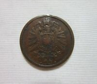 GERMANY, EMPIRE.  2 PFENNIG, 1874 B. WILHELM I.