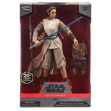 "Disney Store Star Wars Rey Jedi Elite Series Premium Action Figure 10"" NIB"
