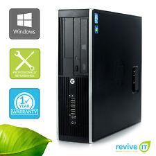 HP Elite 8300 SFF Small Form i5-3470 3.20GHz 8GB 500GB Win 10 Pro 1 Yr Wty