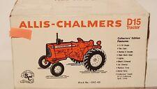 Allis Chalmers D15 1/16 diecast metal farm tractor replica by SpecCast