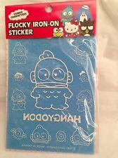 New Sanrio Hangyodon Flocky Iron On Sticker
