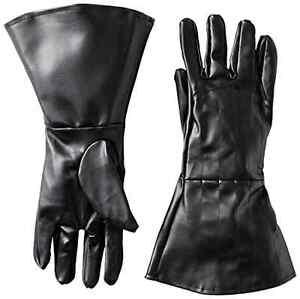 Star Wars Darth Vader Gloves Halloween Party Dress-up Adult Costume Black NEW