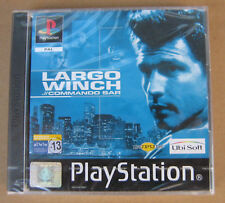 Videogame Largo Winch Playstation 1 PS1 PSX PSONE NEW&SEALED 1st print