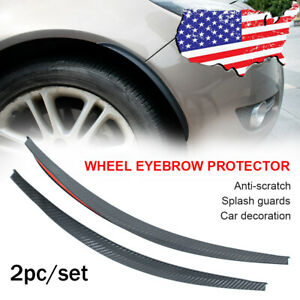 Universal Mud Flaps Splash Guards Arch Eyebrow extension fender flares Mudflaps
