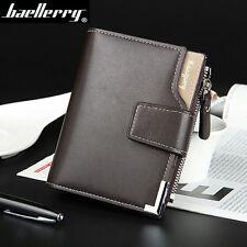 Cartera billetera hombre Men Bag Casual Clutch Bifold Wallet Hasp Zipper  Purse