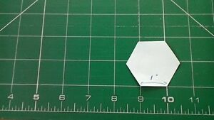 100 paper hexagon patchwork templates 1  inch size