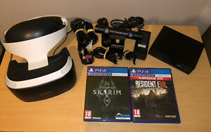 PlayStation 4 VR headset With Camera And Games