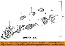 GM OEM-Starter Motor 89017756