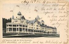 MOUNT PLEASANT HOUSE White Mountains, New Hampshire Hand-Colored Postcard 1906